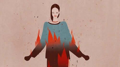 Rozgniewana kobieta