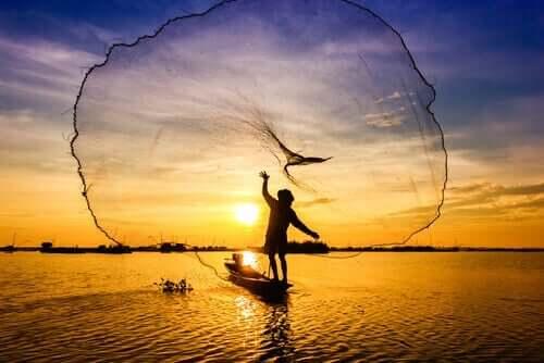Rybak i sieci