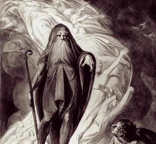 Tejrezjasz - jasnowidz z mitologii greckiej