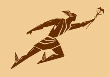 Mit Hermesa, boskiego posłańca