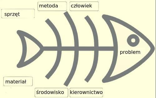 Diagram Ishikawy do rozwiązywania problemów