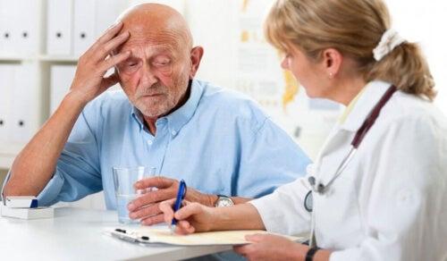 Wykrycie demencji u pacjenta w podeszłym wieku