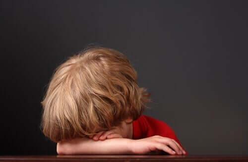 Smutne dziecko - dobre samopoczucie emocjonalne