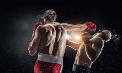 Walka bokserów - encefalopatia bokserska