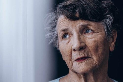 Kobieta z Alzheimerem