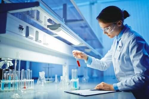 Kobieta - naukowiec