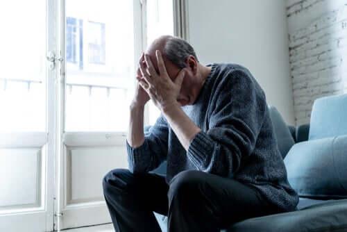 Mężczyzna z demencją