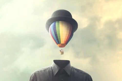 Balon zamiast głowy