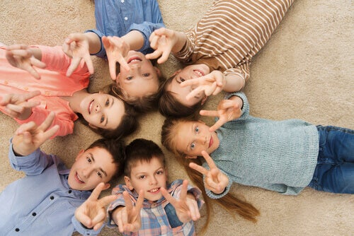 Dzieci w kółku