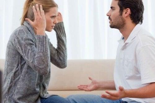 Kłótnia pary