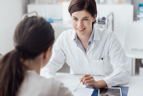 Kobieta u lekarza