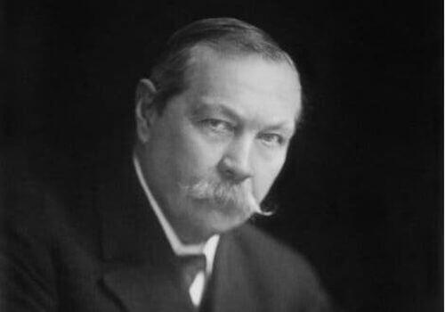 Arthur Conan Doyle - portret