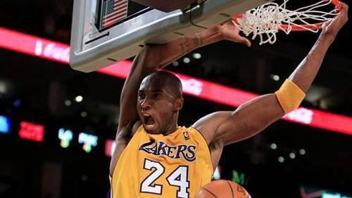Kobe Bryant podczas meczu