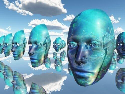 Maski w powietrzu