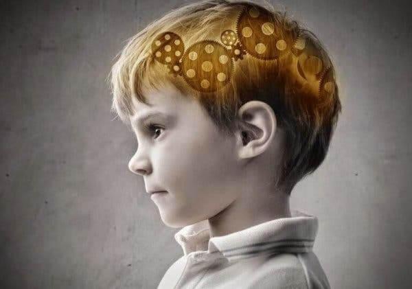Mózg chłopca - epilepsja