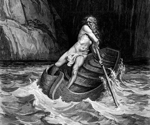 Charon - mit o bogu umierających i przewoźniku dusz