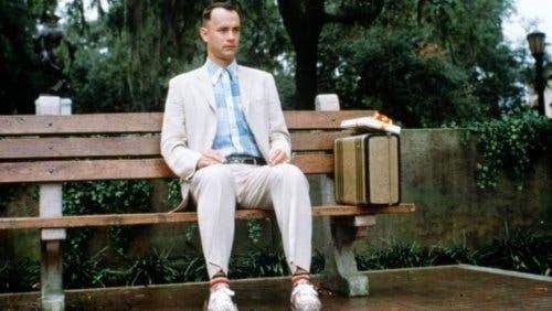 Forrest Gump na ławce