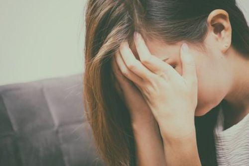 Rozpaczająca kobieta