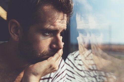 Smutny mężczyzna
