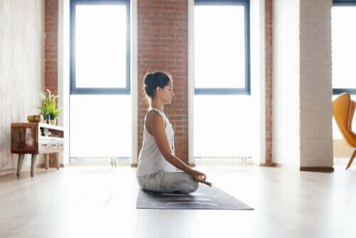 Medytacja w salonie