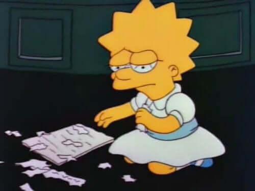 Smutna Lisa Simpson