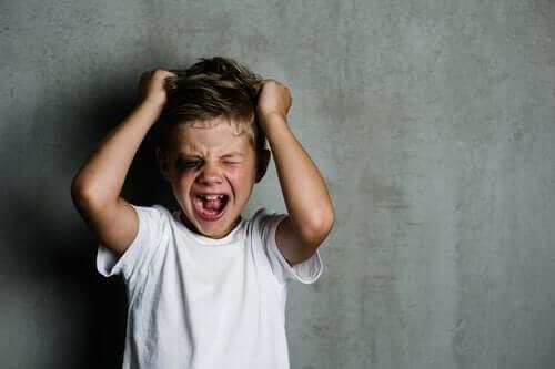 Wrzeszczący chłopiec - psychopatia u dzieci