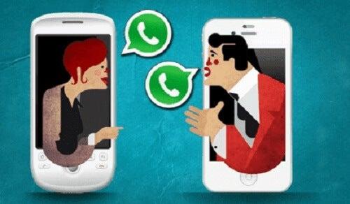 Para WhatsApp: wysyłanie wiadomości w związkach