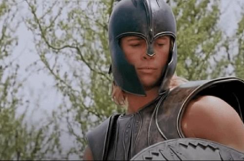 Brad Pitt jako Achilles