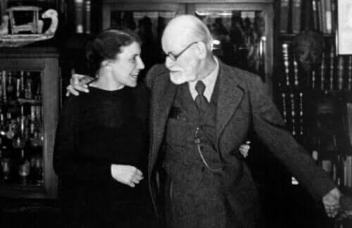 Anna Freud i Sigmund Freud