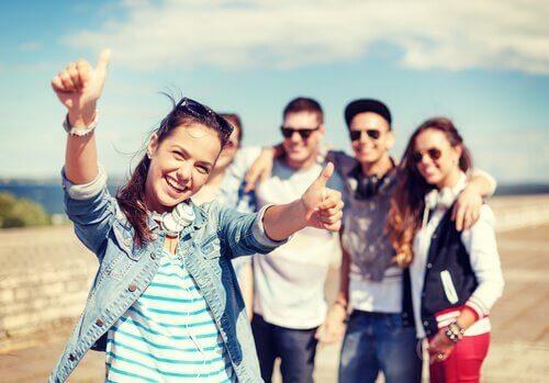 Grupa młodzieży