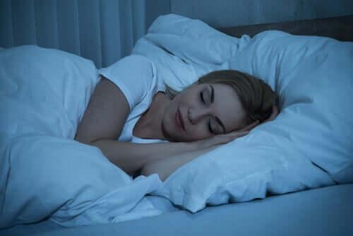 Dobra atmosfera w sypialni