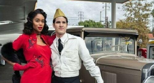 Scena z serialu Hollywood