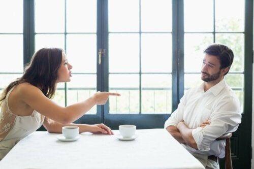 Kłótnia partnerów