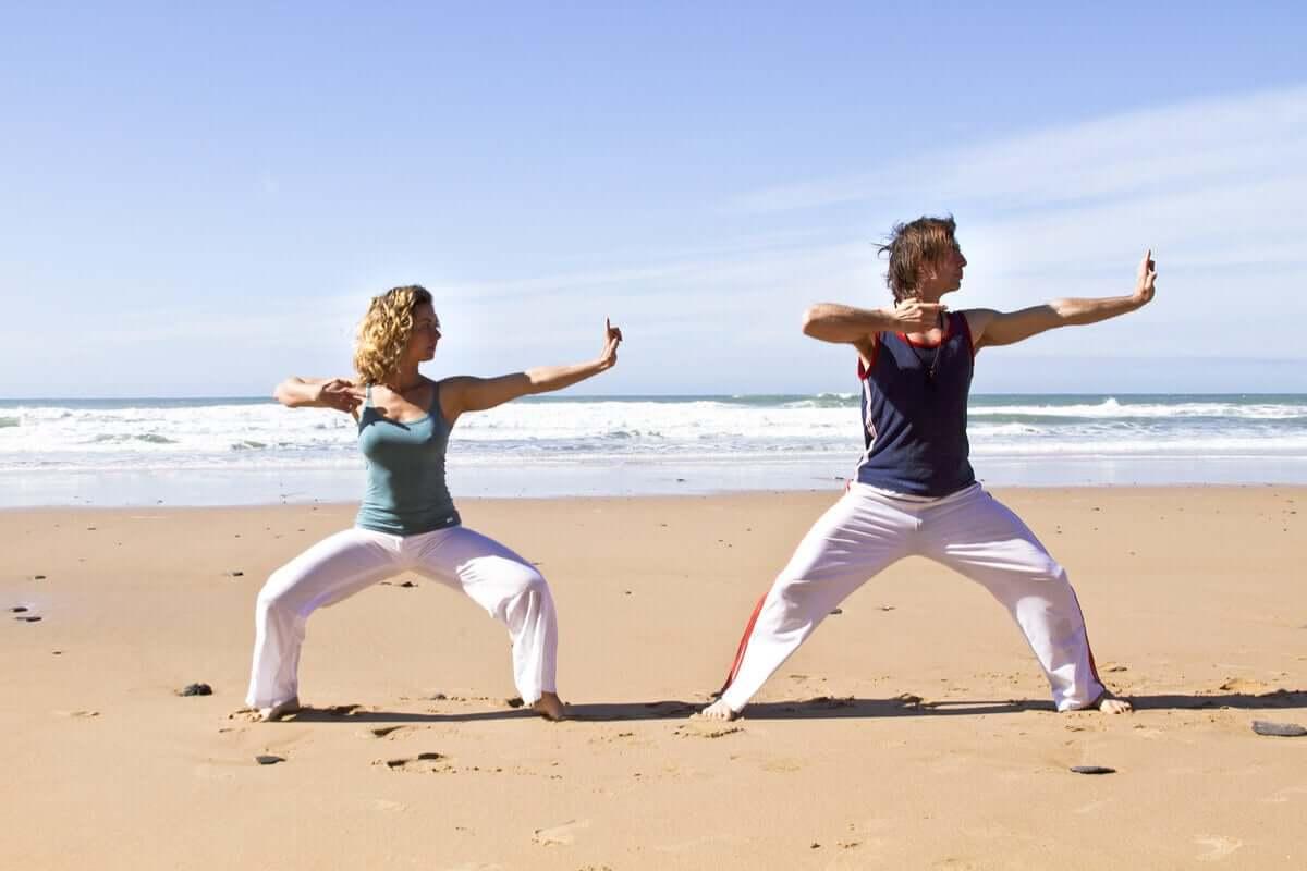 Ćwiczenia na plaż