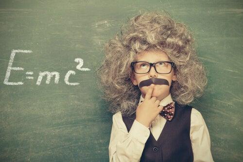 Młody Einstein