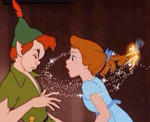 Scena z bajek Disneya
