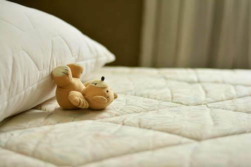 Misiek na poduszce