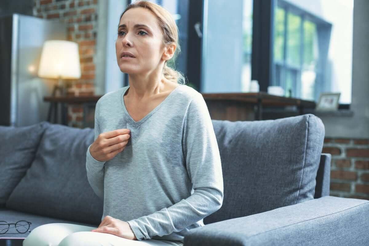 Kobieta w wieku menopauzalnym