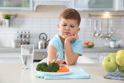 Dziecko przy posiłku