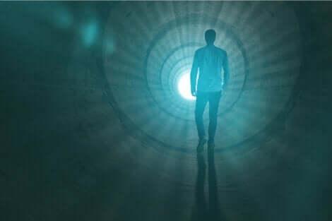 Człowiek w tunelu