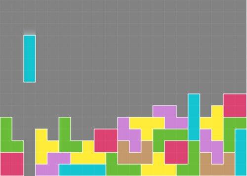 Rozgrywka w grze Tetris