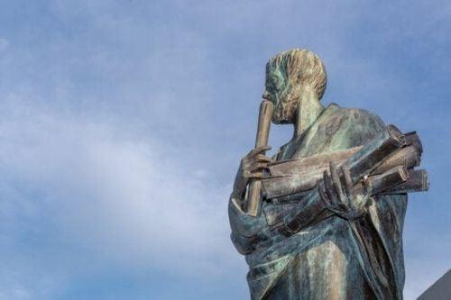 Posąg Arystotelesa - historia psychologii