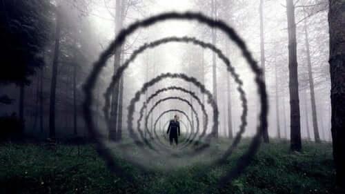 Człowiek w tunelu - trudne podejmowanie działań