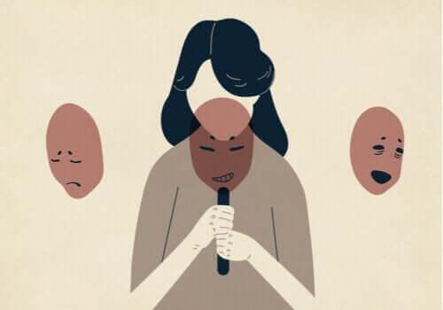 Kobieta wybiera maski - pancerz emocjonalny