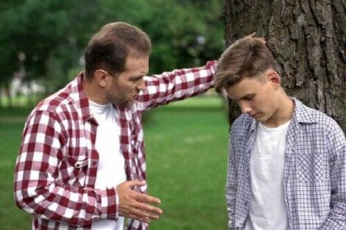 Rozmowa ojca z synem