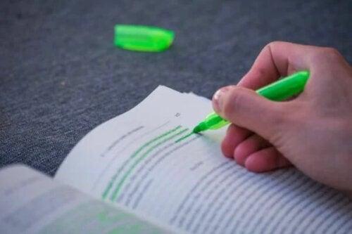 Dlaczego tak trudno jest sięgać po zielony pisak?