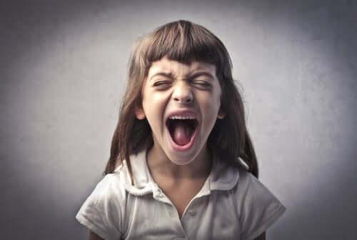 Krzyczące dziecko