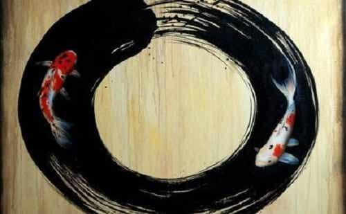 Okrąg ensō: symbol oświecenia w buddyzmie zen