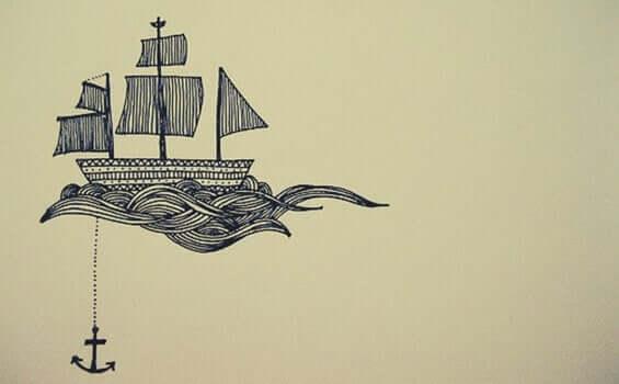 Rysunkowy statek