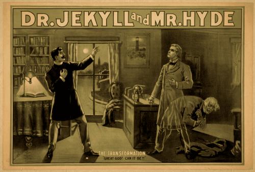 """Plakat """"Doktor Jekyll i pan Hyde"""""""